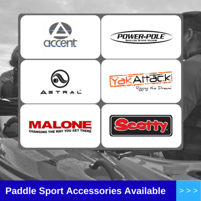 Paddle Sport Accessories Available